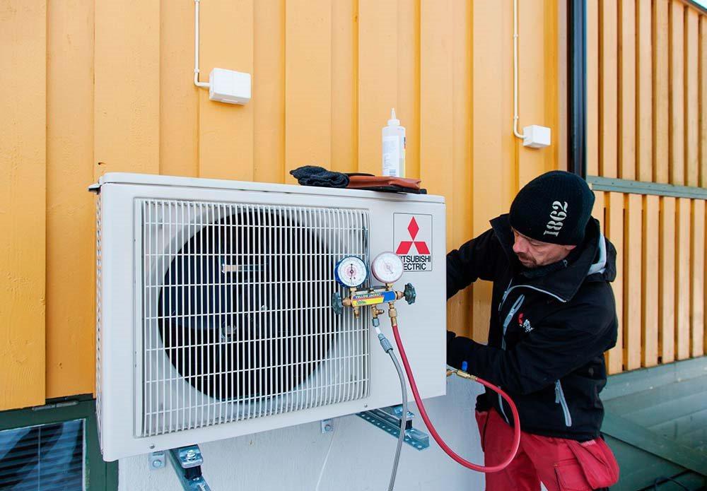 Flere og flere husstander velger varmepumpe